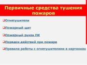 Первичные средства тушения пожаров q. Огнетушители q. Пожарный