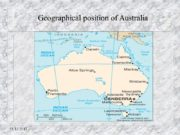 13.12.2017 Geographical position of Australia 13.12.2017 Austrailian Flag