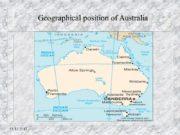 13.12.2017 Geographical position of Australia 13.12.2017 Austrailian Flag