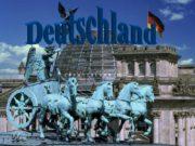 Deutschland Schwarz — rot — gold Berlin ist