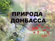 ПРИРОДА ДОНБАССА ПРЕЗЕНТАЦИЯ по природоведению ученика 6 –