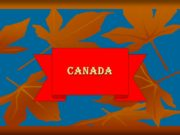 Canada General information Canada's Landmass Capital Provinces and
