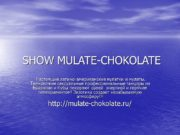 SHOW MULATE-CHOKOLATE Настоящие латино-американские мулатки и мулаты. Темнокожие