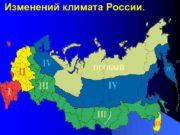 Изменений климата России Изменение климата Климат Земли