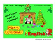 Copyright © 2005 – 2006 MES-English.com Santa –