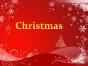 Christmas Christmas is Christian holiday that celebrates the