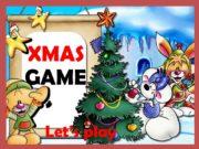 GAME Let's play. XMAS It's… Rudolph Santa Claus