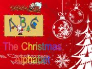 The Christmas Alphabet is for Apple that hangs
