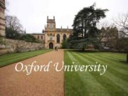 Oxford University The oldest university in the