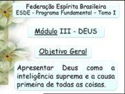 Federação Espírita Brasileira ESDE — Programa Fundamental –