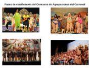 Fases de clasificación del Concurso de Agrupaciones del