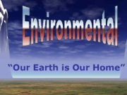 Our Earth is Our Home Every day