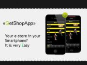 Get Shop App Your e-store in your