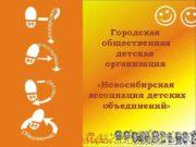Городская общественная детская организация Новосибирская ассоциация детских объединений