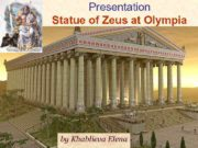 Presentation Statue of Zeus at Olympia by Khablieva