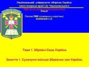 Національний університет оборони України імені генерала армії І