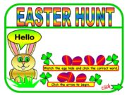 EASTER HUNT Watch the egg hide and click