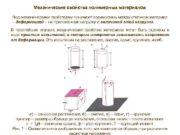 Механические свойства полимерных материалов Под механическими свойствами понимают