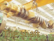 mu  The shaft consists of the crank