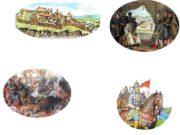 Удельные княжества 15 века московское тверское новгородское Три