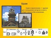 Храм Храм в православии здание для совершения