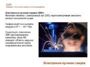 Ур ФУ Кафедра Технологии сварочного производства Электронно-лучевая сварка