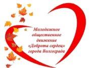 Молодежное общественное движение Доброта сердец города Волгограда 18