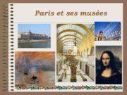 Paris et ses musées Paris Paris