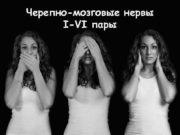 Черепно-мозговые нервы I-VI пары I n