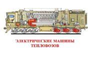 ЭЛЕКТРИЧЕСКИЕ МАШИНЫ ТЕПЛОВОЗОВ Тяговый генератор Номинальная мощность—————-