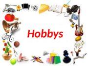 Hobbys  Скажи иначе (Üb. 3 c, S.