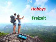 Hobbys Freizeit  Freizeit Üb. 1 a), S.