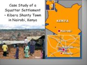 KIBERA PROBLEMS & SOLUTIONS PROBLEMS homelessness rubbish open