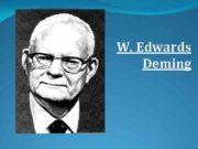 W Edwards Deming In God we trust