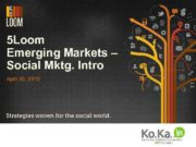 5 Loom Emerging Markets Social Mktg Intro