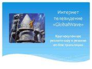 Интернет телевидение Global Wave Круглосуточное реалити-шоу в режиме