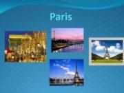 Paris Paris — France s capital and the
