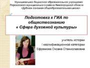 Муниципальное бюджетное образовательное учреждение Перевозского муниципального района Нижегородской