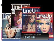 Рекламный глянцевый журнал LINE UP Журнал Line