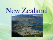 Zealand New Zealand is an island country