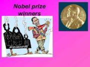Nobel prize winners Sir John Richard Hicks