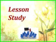 Lesson Study Lesson Study өз