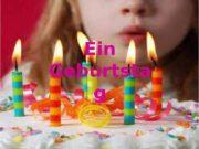 Ein Geburtsta g  День рождения праздновать начинаться