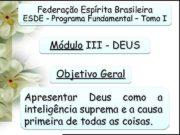 Federação Espírita Brasileira ESDE — Programa Fundamental