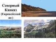 Северный Кавказ Европейский юг Состав Северокавказского экономического