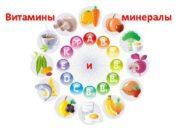 Витамины минералы и Витамины водорастворимые в существенных