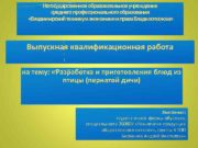 Негосударственное образовательное учреждение среднего профессионального образования Владимирский техникум