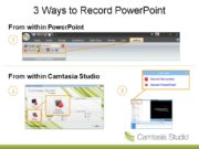 3 Ways to Record PowerPoint From within PowerPoint