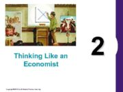 Thinking Like an Economist Copyright 2004 South-Western Thomson