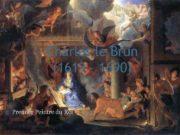 Charles le Brun 1619 1690 Premier Peintre